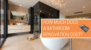 Renovation Bathroom Cost Calculator How Much Does A Bathroom Renovation Cost Free Calculator Youtube