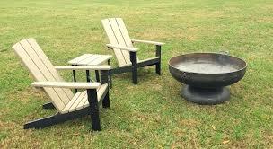 two tone modern poly chair adirondack chairs diy
