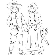 Pilgrim Coloring Pages Free Collection Of Thanksgiving Pilgrim