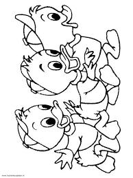 Kwik Kwek En Kwak 1 Kleurplaten Color Line Art En Character