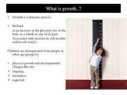 Define Growth Chart Growth Charts