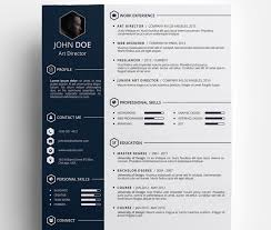 29 Useful Resources Of Awesome Resume Templates Free
