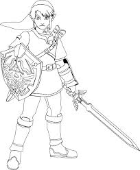 Pin By Susie Petri On Lineart Zelda Link Chidas