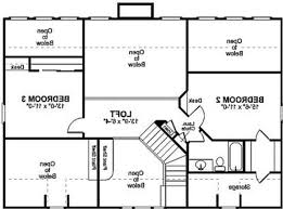 garage excellent simple open floor house plans