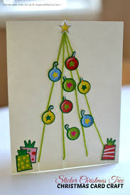 How To Make A Christmas Card With Children  DIY Crafts Tutorial Christmas Card Craft For Children