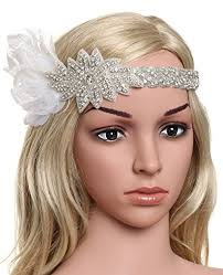 Gatsby Hairstyles 64 Inspiration BABEYOND Vintage 24s Flapper Headband Roaring 24s Great Gatsby