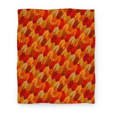 Fall Patterns Delectable Geometric Fall Leaf Pattern Blanket LookHUMAN