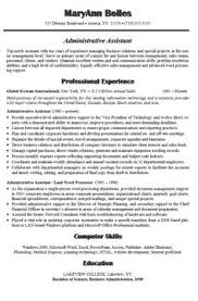 Examples Of Administrative Assistant Resumes 37 Best Administrative Assistant Resume Images Resume Templates