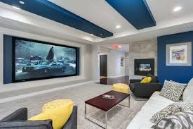 40 Home Theater Design Ideas For Men Movie Room Retreats Amazing Home Media Room Designs