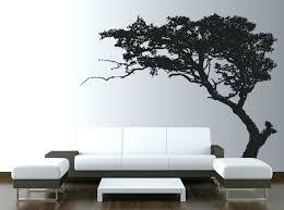 wall decal tree of life birch tree wall stickers wall arts tree silhouette vinyl wall full