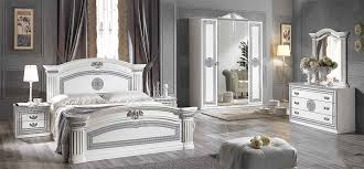 italian white furniture. Alex-White-silver-classic-italian-bedroom-furniture-set Italian White Furniture H