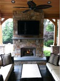covered patio with fireplace fire pit and outdoor fireplace ideas network blog made stylish outside within