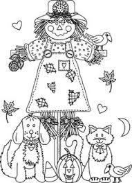 Small Picture A fun scarecrow clipart and coloring page for all of us in the