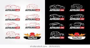 car outline logo. Unique Car Car Logotypes  Car Service And Repair Vector Set Logo Templates Intended Outline Logo I