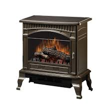 dimplex traditional 400 sq ft electric stove in bronze