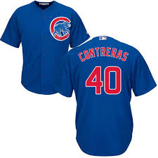 Replica Jersey Chicago Alternate Cool Contreras Willson Base Cubs