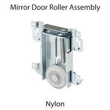 sliding mirror wardrobe door bottom roller 1 7 16 dia