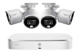 4k ultra hd security system with four