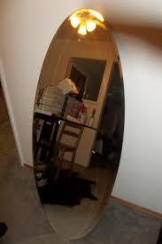 kolja ikea full length oval mirror