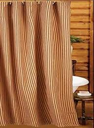ticking stripe shower curtain uk