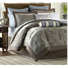 king size bed in a bag under 50 brown bedding cream bedding sets blue and chocolate
