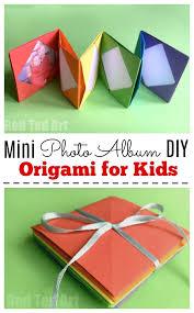mini origami photo al accordion photo book this is a super easy and fun