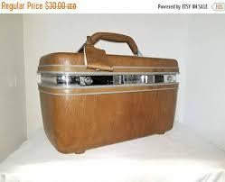 vine samsonite train case samsonite makeup carrier brown suitcase cosmetic case vine luge retro hard side