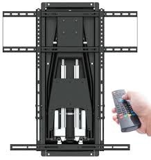 A CEDIA 2017 MantelMount To Launch Its First Motorized TV Mount For  Overthefireplace Installations New MM850 Moves Updown Inout Leftright
