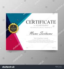 Elegant Page Borders For Microsoft Word Certificate Template