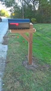 heavy duty mailbox. Yankee Style Heavy-Duty Mailbox Post | Lynchpin Design Company |Home Accents -- Full Packages Available For New Construction Heavy Duty