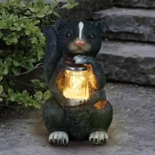 led firefly jar garden statue 71723 rs