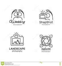 Photographer Logos Elements For Photographer Logos Stock Vector Illustration