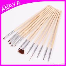 Nail Brush Set Nail Paint Design Pen Tools For Nail Tips Uv Nail ...