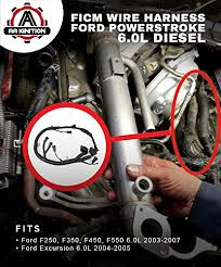 amazon com ficm engine fuel injector complete wire harness Ford 6.0 Map Sensor amazon com ficm engine fuel injector complete wire harness replaces part 5c3z9d930a fits ford powerstroke 6 0l diesel 2003, 2004, 2005, 2006,
