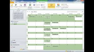 office agenda office 2010 outlook agenda youtube