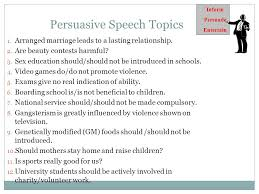 topics on persuasive essays co topics on persuasive essays