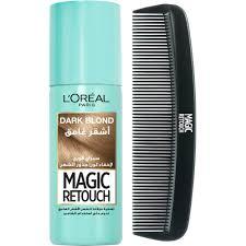 L'Oreal Paris <b>Magic</b> Retouch <b>Hair</b> Concealer Spray + Free <b>Hair Comb</b>
