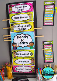 How To Improve Classroom Behavior Using Clip Charts