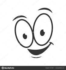Gelukkig Emotie Pictogram Logo Ontwerp Stockvector Sonulkaster