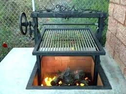 fireplace cooking grill campfire outdoor fire pit grate beautiful steel ring with park camping trail cook