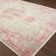 pink gray geometric area rug and for nursery grey mod pop contemporary