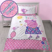 peppa pig amp george pig duvet quilt covers