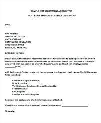 Employer Recommendation Letter Sample Recommendation Letter For Technician Blogue Me