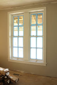 Shaker Window Trim Window Trim Myrtle House Elizabeth Burns Design Raleigh Nc