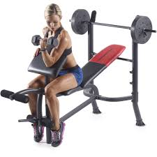 McElmurrayu0027s Mountain Retreat Goldu0027s Gym Olympic Size Weight Used Weight Bench Sale