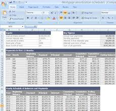 amortization formula and spreadsheet for schedule a tax deduction