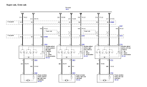 wiring diagram ford f the wiring diagram ford f150 supercrew the window and door locks wiring diagram