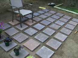 outdoor diy concrete pavers ideas how to build making make your own diy patio pavers