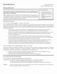 Police Officer Resume Templates Police Chief Resume Cover Letter