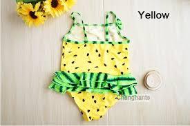 Children Swimming wear Bathing suit Baby Girls Swimwear Watermelon ...